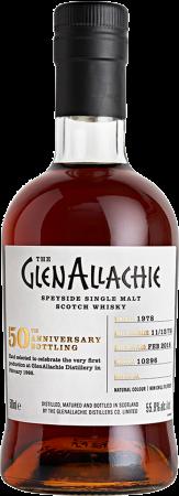GlenAllachie 1978/2018 #10296 50th Anniversary Single Cask