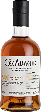 GlenAllachie 1990/2018 #2517 50th Anniversary Single Cask