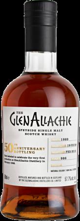 GlenAllachie 1989/2018 #986 50th Anniversary Single Cask