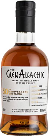 GlenAllachie 1990/2018 #2515 50th Anniversary Single Cask