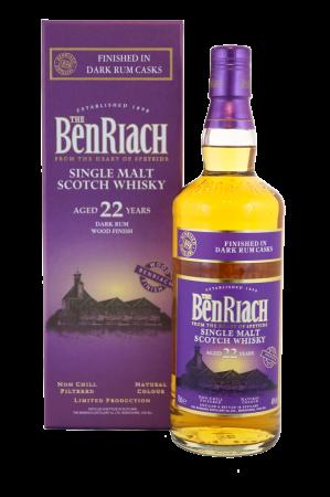 BenRiach 22 Jahre Dark Rum Wood Finish