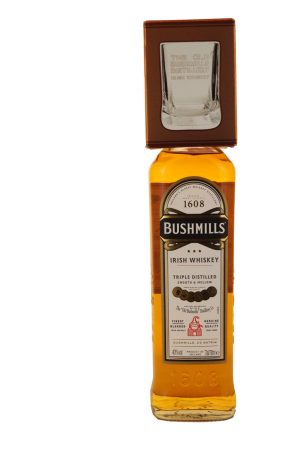 Bushmills Original Irish Whisky mit Whiskytumbler