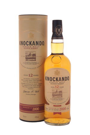 knockando single malt 12 years whisky online kaufen. Black Bedroom Furniture Sets. Home Design Ideas