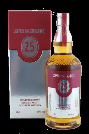 Springbank 25 Jahre Limited Edition 2015