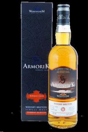 """Armorik """"pour Allemagne - breton oak cask - 9 Jahre Single Cask #3134"""