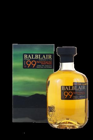 Balblair Vintage 1999 2nd Release