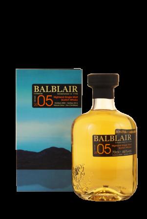 Balblair Vintage 2005 1st Release