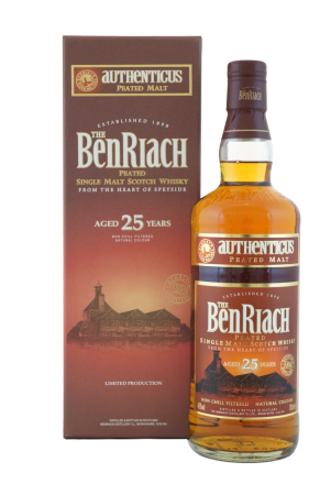 BenRiach Authenticus 25 Jahre gereift