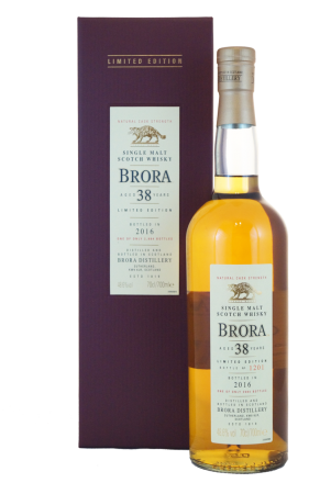 Brora 38 Jahre Special Release 2016 1977/2016
