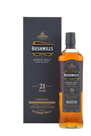 Bushmills 21 Jahre Rare