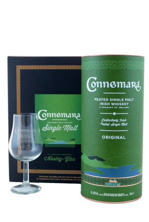 Connemara Original Geschenkpackung mit Nosingglas