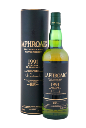 Laphroaig 1991 Vintage 23 Years Old