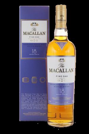 Macallan 18 Jahre Fine Oak