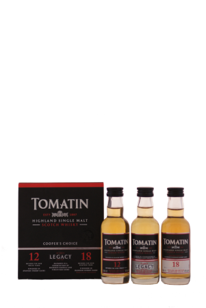 Tomatin Coopers Choice Pack 3 x 0,05 Liter