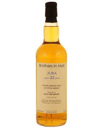 Jura 22 Jahre Single Cask Brothers in Malt