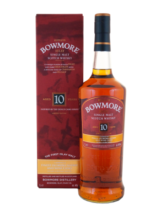 Bowmore 10 Jahre Inspired by Devils Cask 1 Liter