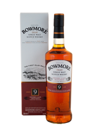 Bowmore 9 Jahre Sherry Cask Matured