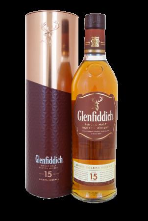 Glenfiddich 15 Years Solera - Geschenkverpackung