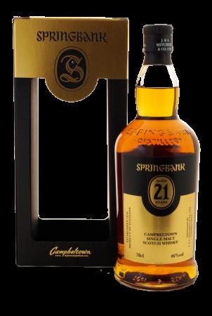 Springbank 21 Jahre Limited Edition 2017