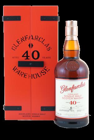 Glenfarclas 40 Jahre Warehouse Edition