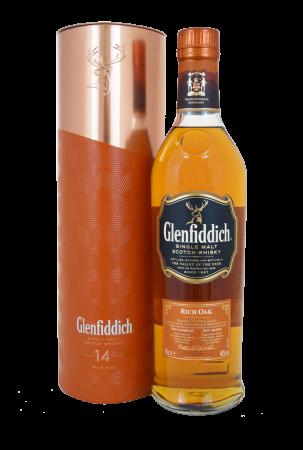 Glenfiddich 14 Years Rich Oak - Geschenkverpackung