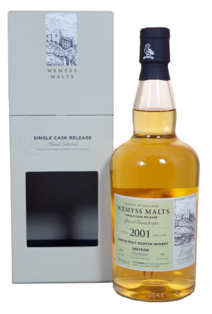 "Wemyss Dailuaine ""Spiced Gumdrops"" 17 Jahre Single Cask 2001"