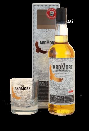 Ardmore Legacy Geschenkpackung mit Whiskytumbler