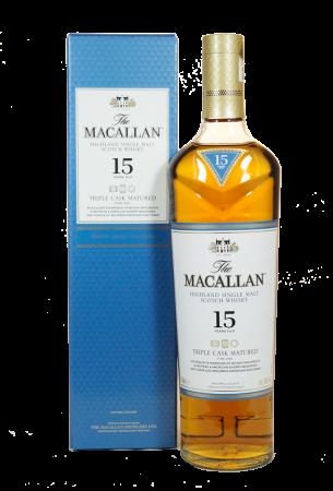 Macallan 15 Jahre Triple Cask Matured