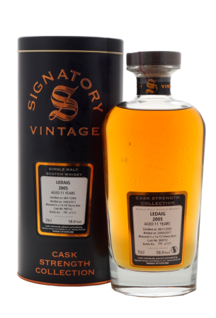 Signatory Ledaig 11 Jahre First Fill Sherry Cask - Cask Strength