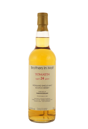 Tomatin 24 Jahre Brothers in Malt